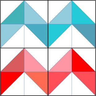 Sewing School - your online source for all things sewing — Tutorial: Zig Zag Quilt Block