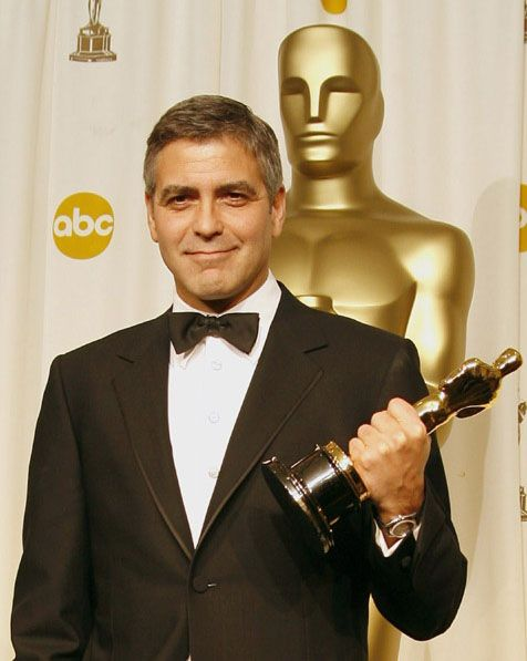 "2/08/2014 11:52pm The Academy Awards Ceremony 2006: George Clooney Best Supporting Actor Oscar for ""Syriana""  2005."