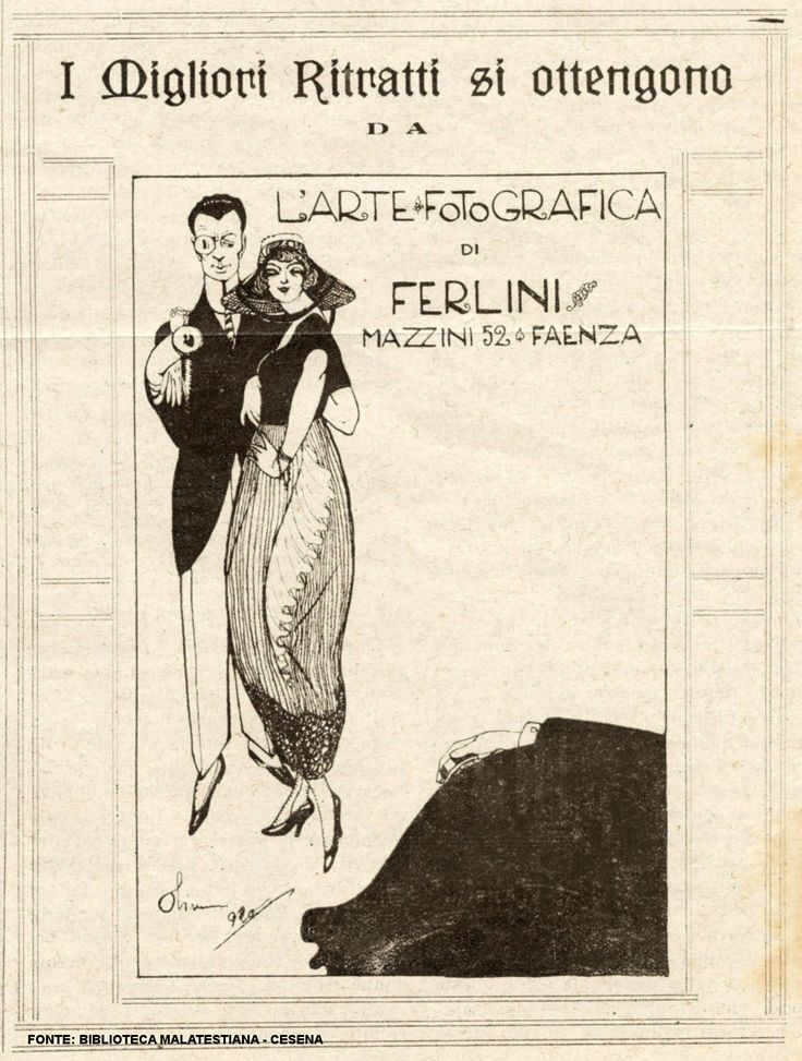 Foto Ferlini nel 1921 #photographer