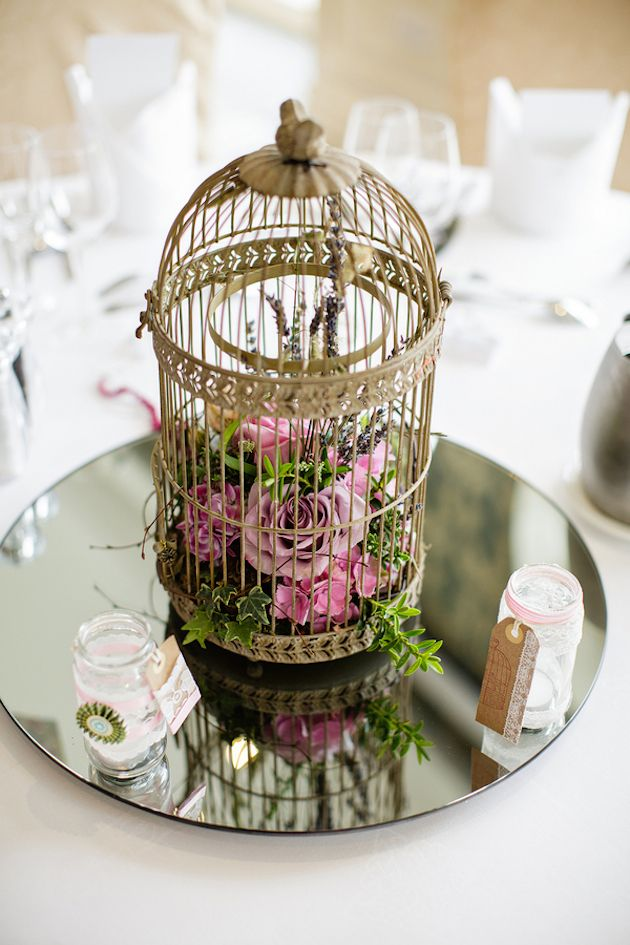 Laid back Irish Family Wedding Birdcage DecorBirdcagesBridal
