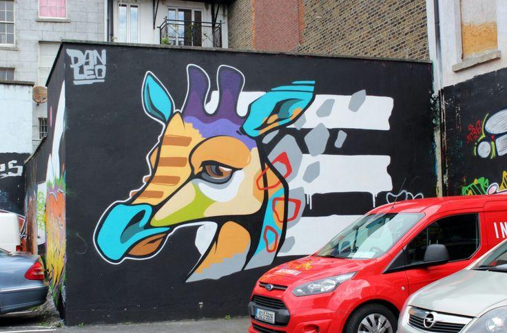 Street art Dublin dan leo