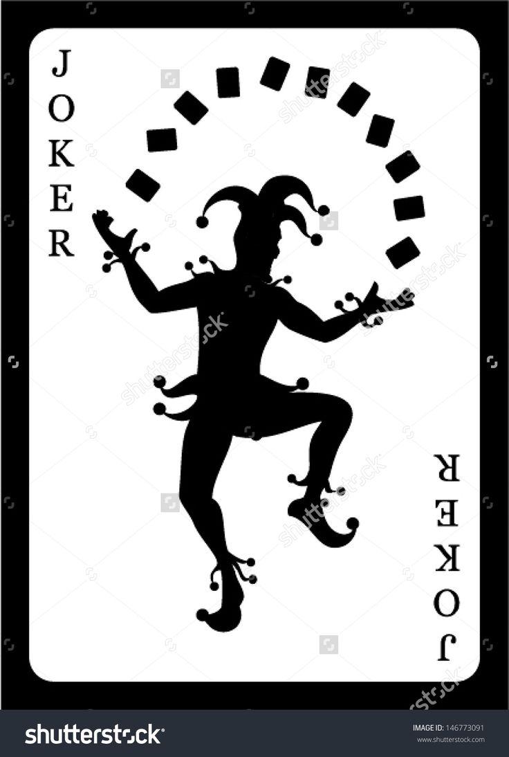 Joker Card. Vector Background. - 146773091 : Shutterstock
