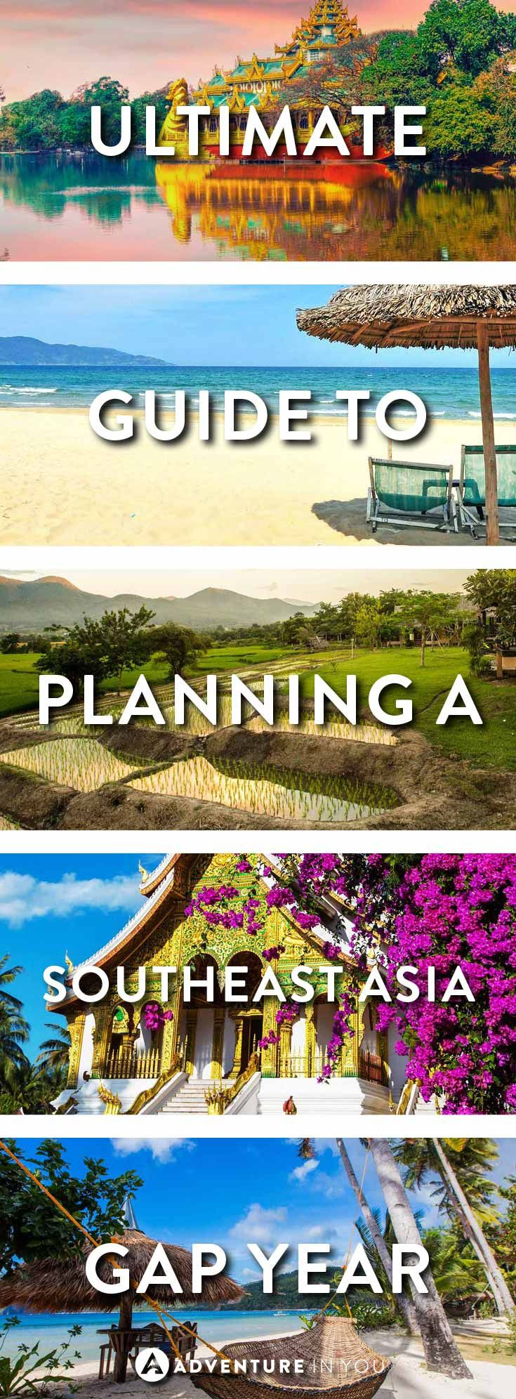 South East Asia | Planning a gap year? Here is the ultimate guide on where to go, what to do, hot to plan it, and how to make money while on the road.