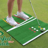 Perfect Pitch Golf Mat #GolfTips #ImproveYourGolfGame