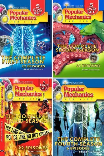 Popular Mechanics for Kids: The Complete Series [DVD]