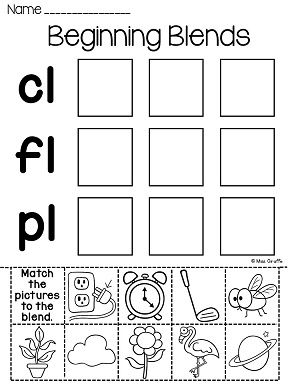 Best 25+ Blends worksheets ideas on Pinterest | Phonics worksheets ...