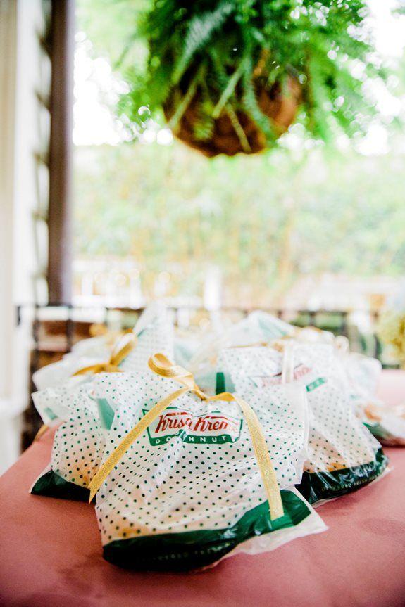 how to order krispy kreme wedding favors