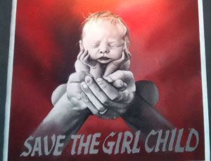 Save the child Girl