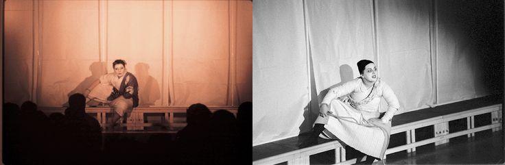 IL BANDITO TAJOMARU E LA CORDA  -                                               bn: Scene, costumi e luci di Renato Morselli. col: Costumi di Sakura Fujita, scene e nuove luci di Renato Morselli