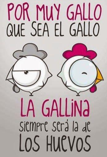 EL GALLO LA GALLINA Y LOS HUEVOS via www.chistesyociocidad.blogspot.ccom
