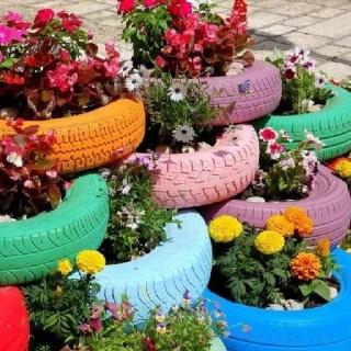 Come riciclare gli pneumatici usati....