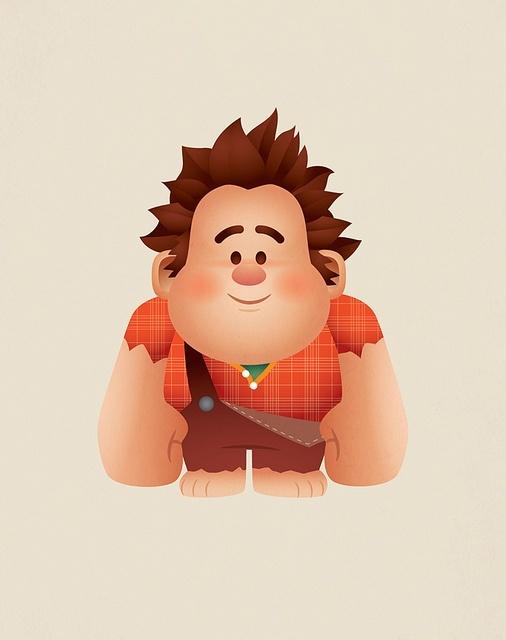 Wreck-It Ralph. Aw!
