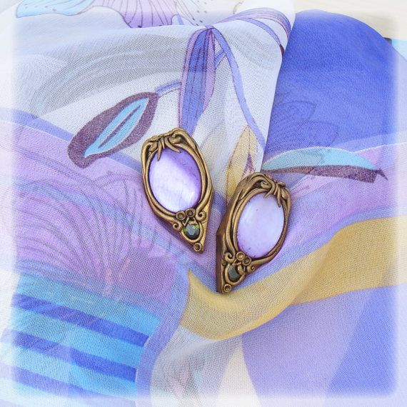 Handmade polymer clay earrings Bohemian by Sararmoniasara on Etsy