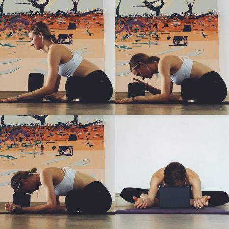 Yin Yoga - Meridians - Butterfly Pose