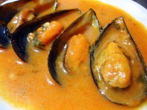 Receta casera de mejillones en salsa de tomate picante - El Aderezo - Blog de Recetas de Cocina