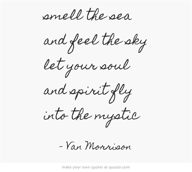 into the mystic <3 Van Morrison