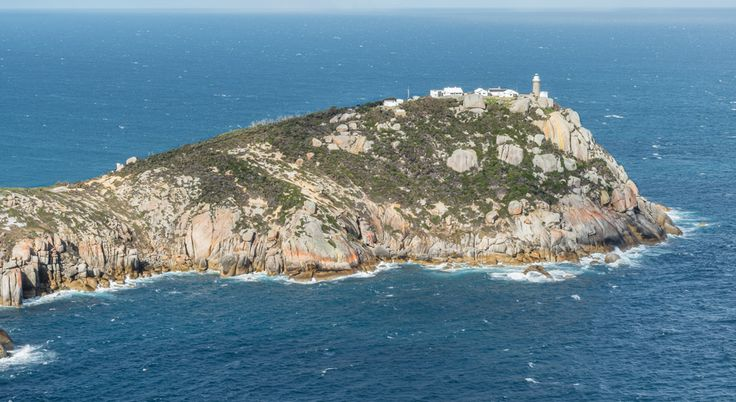 Wilsons Promontory Lighthouse at the point of the peninsula