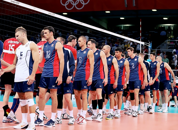 USA men's volleyball team | olympics | Volleyball uniforms ...