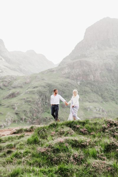 What a way to spend your anniversary! http://www.stylemepretty.com/destination-weddings/2015/03/18/scottish-highlands-anniversary-session/ | Photography: Annamarie Atkins - http://www.annamarieakinsphotography.com/