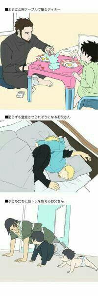 Sasuke,Naruto,and.... sai? Idfk pls no yell