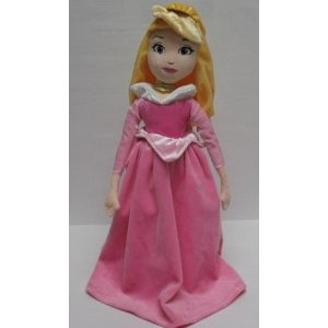 "Amazon.com: Disney Princess 16"" Sleeping Beauty Rag Doll: Toys & Games $16.99"