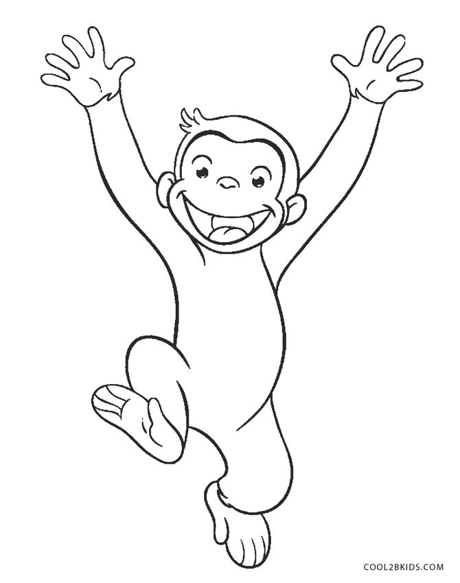 Free Printable Curious George Coloring Pages For Kids Cool2bkids In 2020 Curious George Coloring Pages Disney Coloring Pages Monkey Coloring Pages