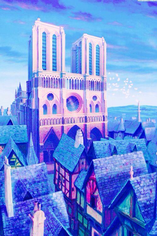 Notre Dame, The Hunchback of Notre Dame.