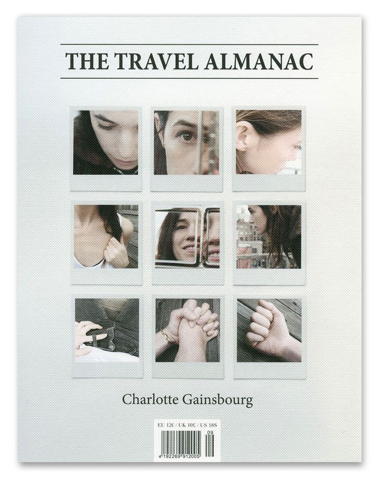 Charlotte Gainsbourg, The Travel Almanac no. 9 (USA), Spring-Summer 2015 #charlottegainsbourg #travelalmanac