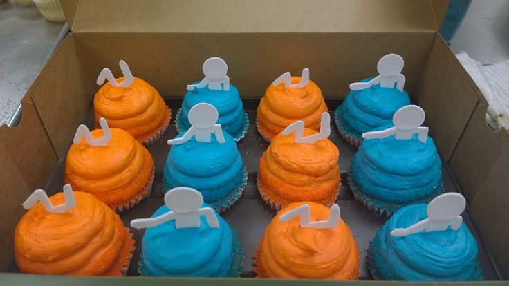 Portal Cupcakes @Jess Seipp