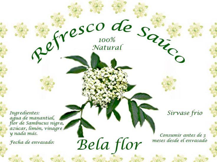 Bela flor - Refresco de Saúco