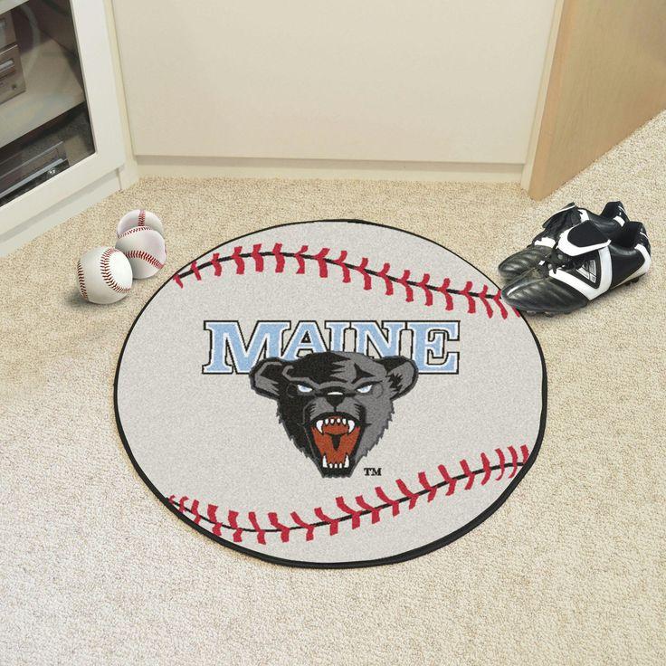 University of Maine Baseball Mat 27 diameter