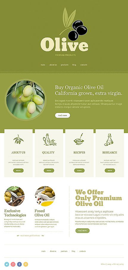 #Organic products #ResponsiveDesign theme