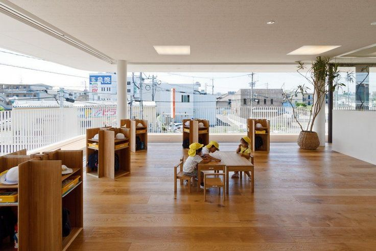 A Nursery School In Hiroshima Shaped Like A Peanut   Nursery School,  Architects And School Design