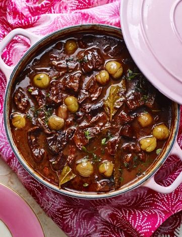 Feed a crowd with our Italian beef, porcini and red wine stew