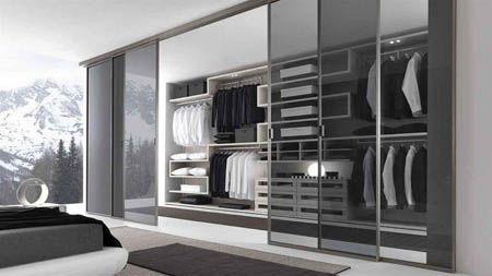 Walk In Closet Glass Doors Designs Ideas