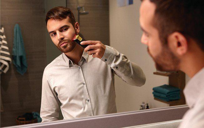 Primeiro barbeador com laser promete ajudar homem na hora de aparar os pelos - Estilo - iG