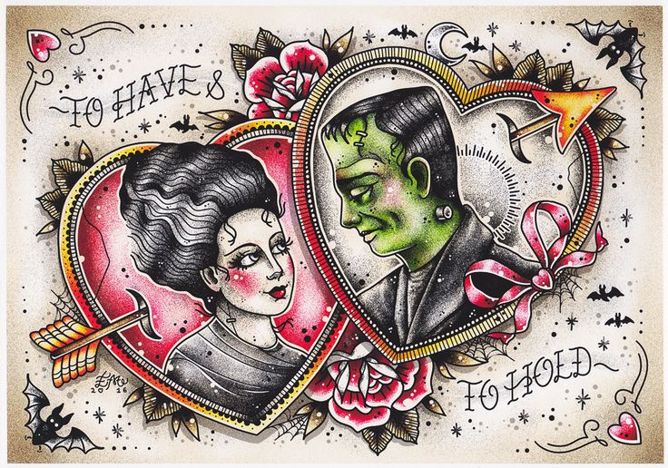 CREEP HEART TO HAVE & TO HOLD PRINT