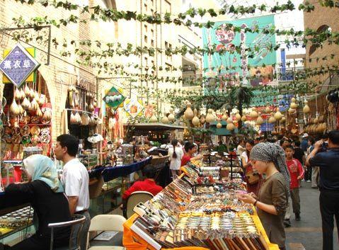 Erdaoqiao Market of Urumqi