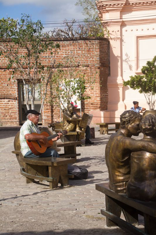 serenade in the square, Camaguey, Cuba