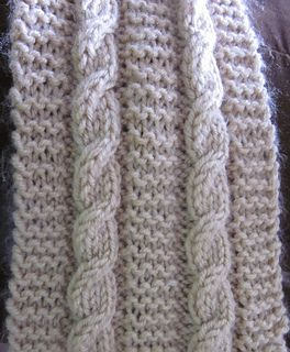 If the thought of knitting cables is daunting to you, yet you would like to learn how to make them, this easy cable scarf is a fun way to get started. There is only one cable stitch that is repeated throughout this scarf.