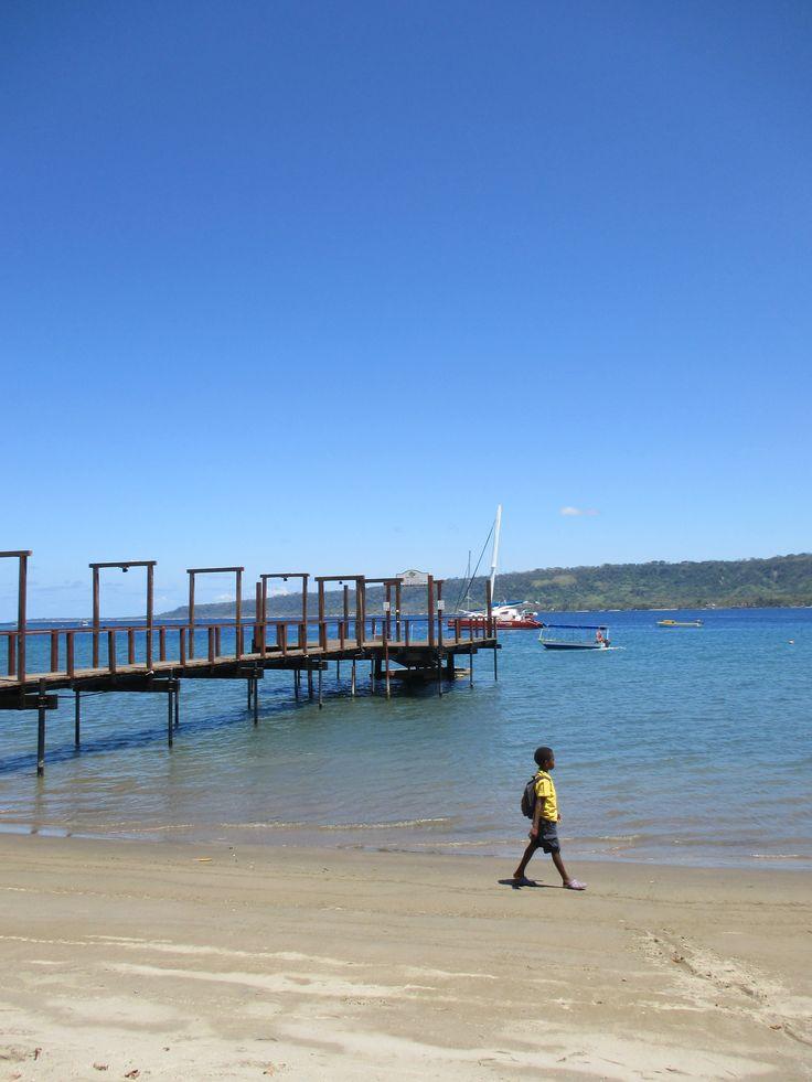 School boy Vila, Vanuatu