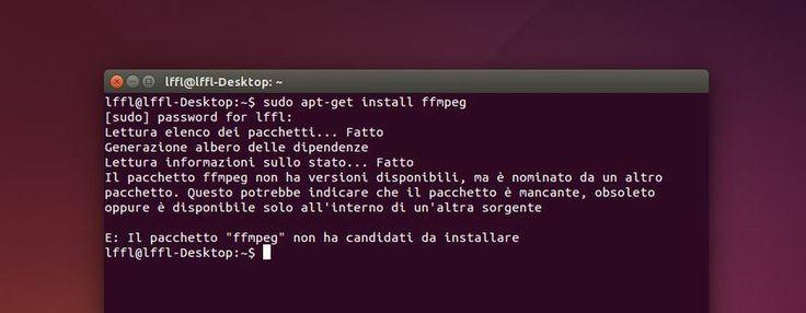FFmpeg non presente nei repo Ubuntu 14.04, ecco come risolvere il problema #software #tutorial #ubuntu #linux