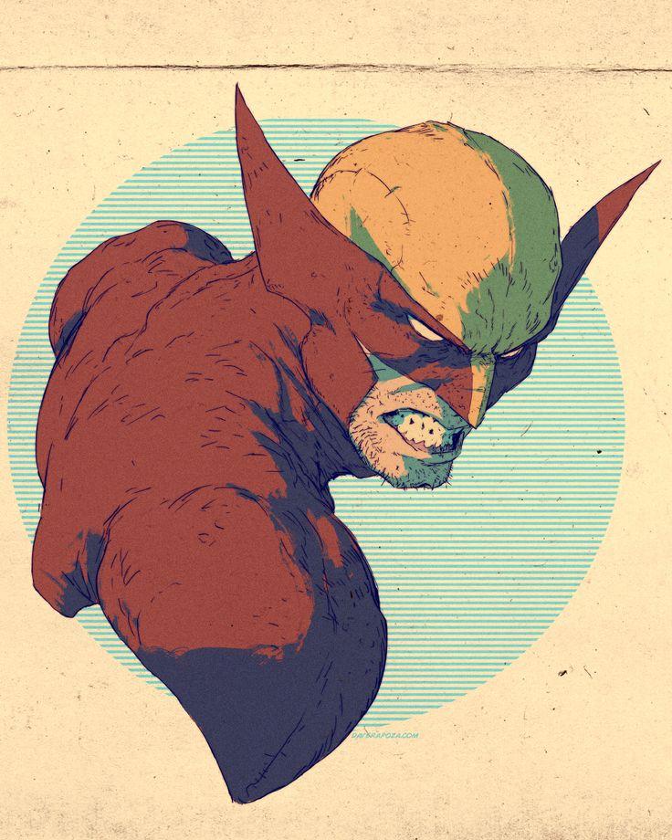 Wolverine by *DavidRapozaArt on deviantART