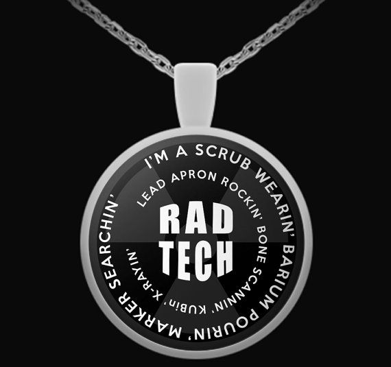 Rad Tech X-Ray Necklace for Radiologic Professionals. x ray tech humor, rad tech humor, rad tech, x ray tech, x ray humor, x ray,  rad tech week, rad tech student, mammographer, mammographer humor,  mammography, mammography humor, radiographer, radiograph