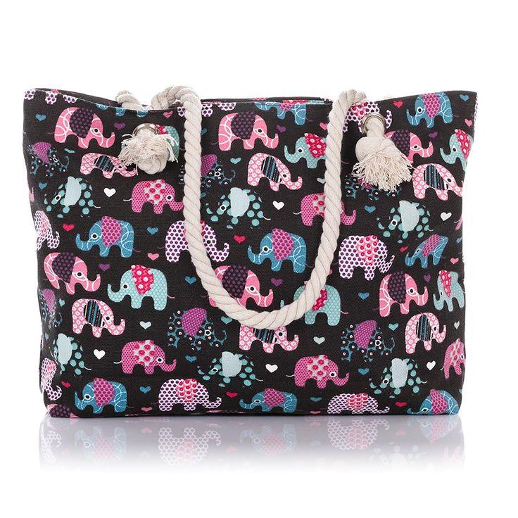 torby plażowe, #beachbag #elephantbag tanie torebki damskie w SuperGalanteria.pl