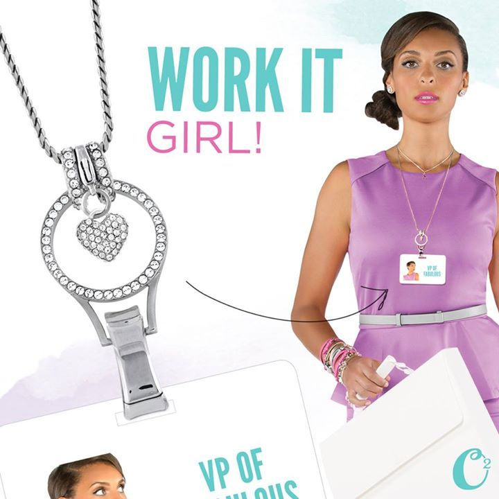 Origami Owl wants you to dress up a boring office I.D. badge with the new Eternity Lanyard! It's a fashionable alternative to our popular Lanyard Locket! Adorned with beautiful Crystals by Swarovski... no charms are necessary. But don't forget to add a Dangle to it!