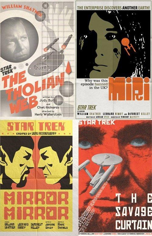 Star Trek Episode Posters