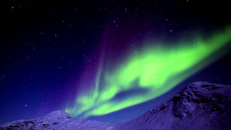 Magic northern lights of Greenland! - YouTube