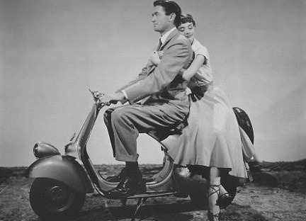 """In """"Roman Holiday"""""""