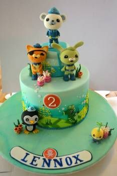 55 best Octonauts Cakes images on Pinterest Birthdays Anniversary